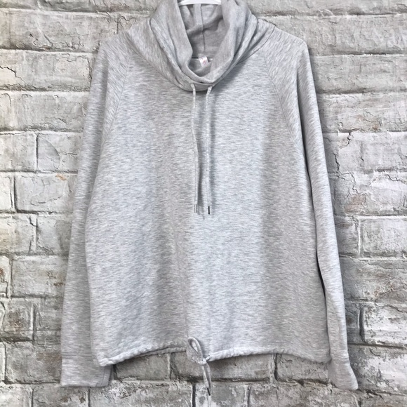 Gillian & O'Malley Cowl Neck Sweatshirt Sz Lg